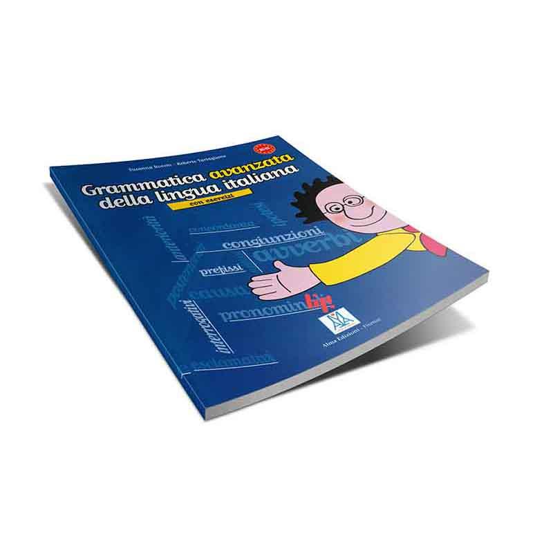 منابع آموزش زبان ایتالیایی کتاب grammatica avanzata della lingua italiana