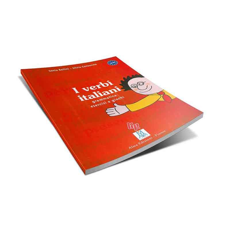 منابع آموزش زبان ایتالیایی کتاب I verbi italiani