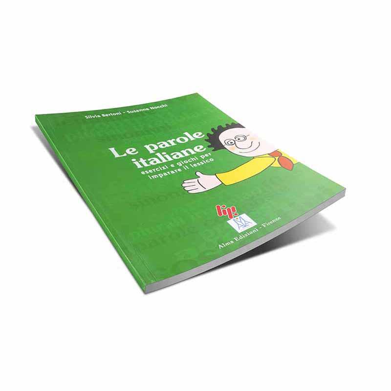 منابع آموزش زبان ایتالیایی کتاب Le parole italiane