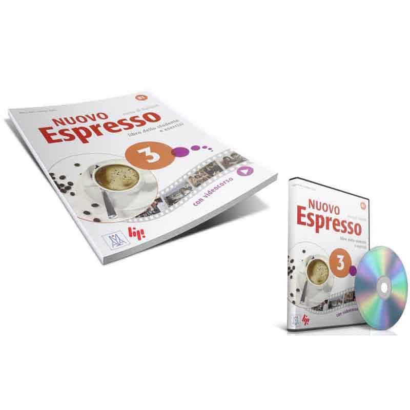 منابع آموزش زبان ایتالیایی کتاب Nuovo espresso 3