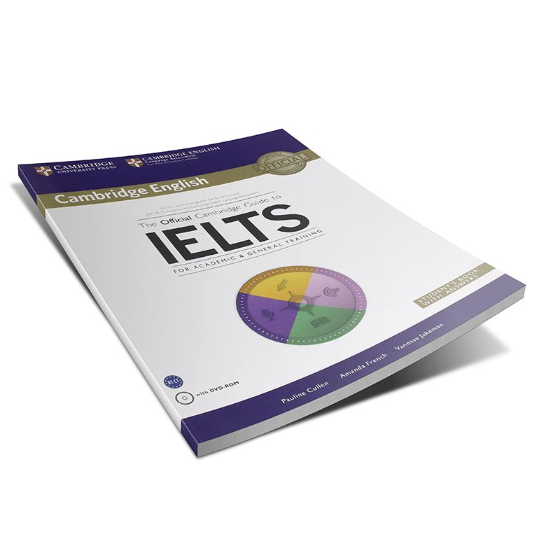 معرفی کتاب The official Cambridge guide to IELTS