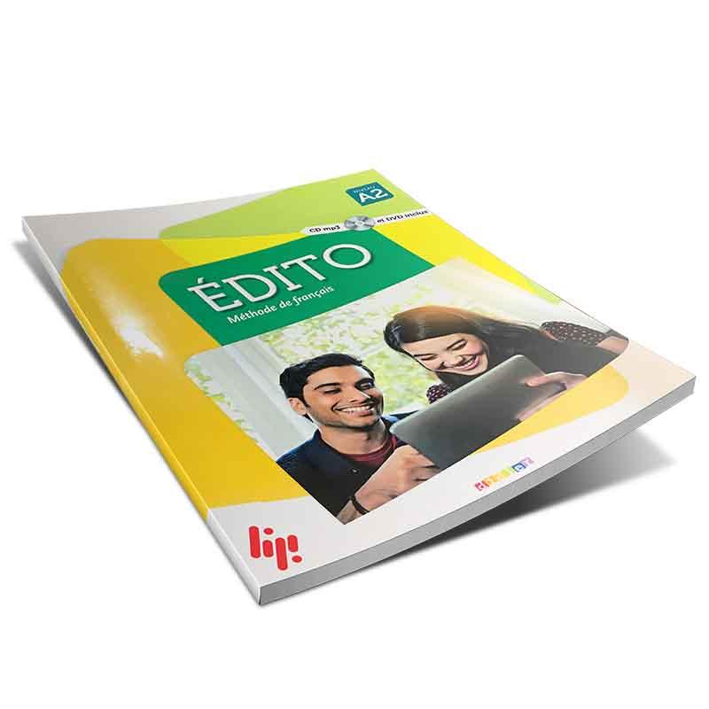 آموزش زبان فرانسه کتاب Edito 2 niv.A2