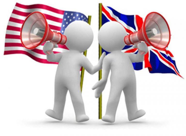 تفاوت انگلیسی British و American