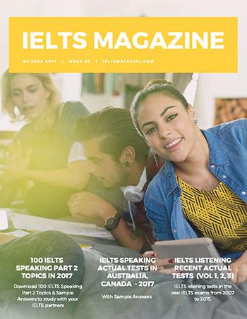 دانلود Ielts Magazine هفته سوم