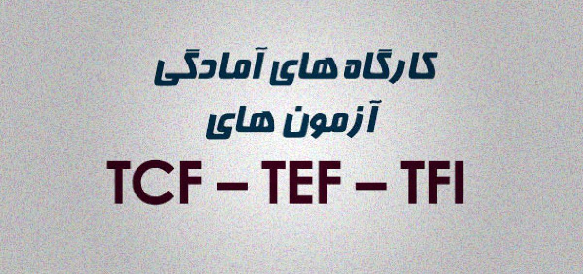 کارگاه آمادگی آزمون TEF