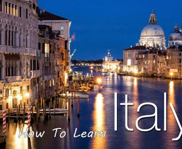 چگونه به سرعت ایتالیایی یاد بگیریم